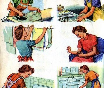Spring-Cleaning-1950s